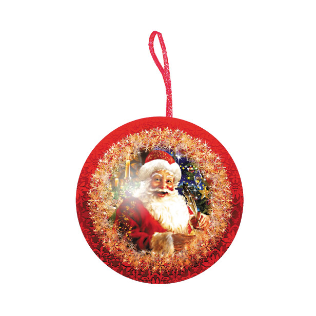 Детский сладкий новогодний подарок «Шар №1»
