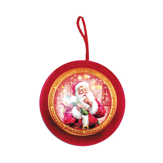 Детский сладкий новогодний подарок «Шар №2»