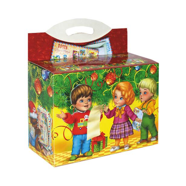 Детский сладкий новогодний подарок «Письмо ДМ». Фото 2