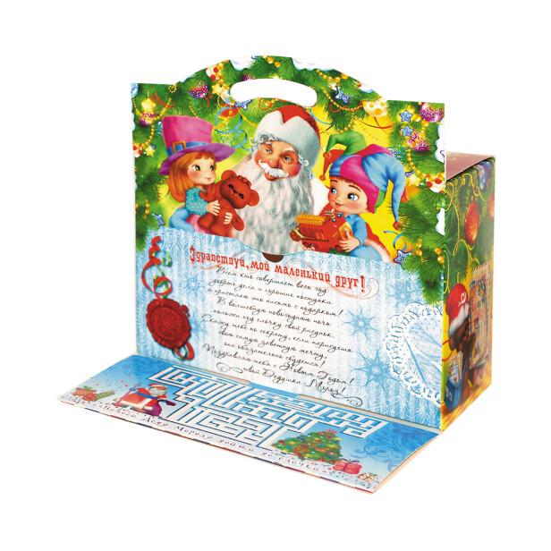 Детский сладкий новогодний подарок «Письмо ДМ». Фото 3