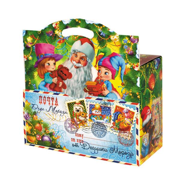 Детский сладкий новогодний подарок «Письмо ДМ». Фото 1