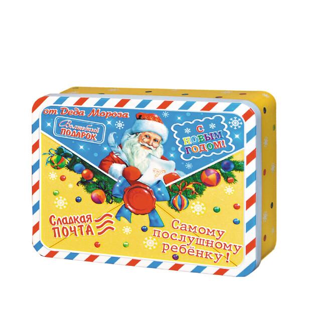 Детский сладкий новогодний подарок «Конверт». Фото 1