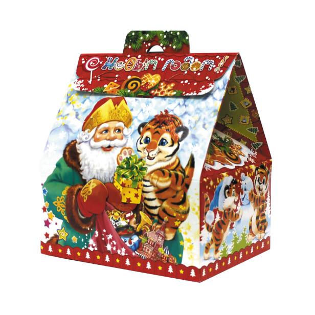 Детский сладкий новогодний подарок «Подарок». Фото 1