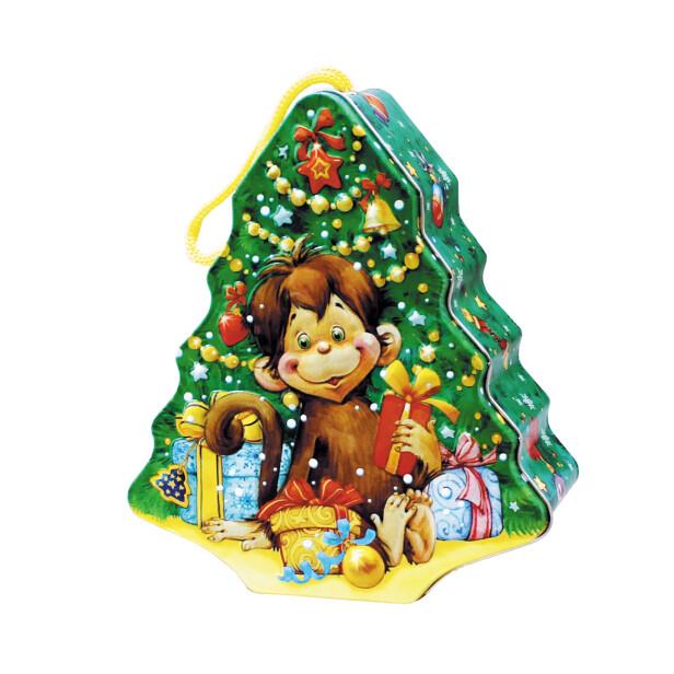 Детский сладкий новогодний подарок «Пуговка». Фото 1