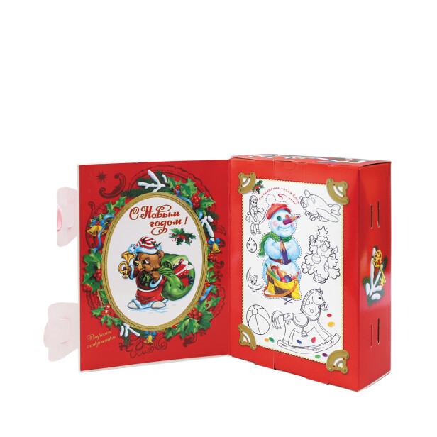 Детский сладкий новогодний подарок «Фоторамка». Фото 3