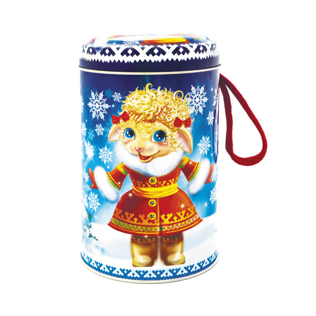 Детский сладкий новогодний подарок «Кокетка». Фото 1