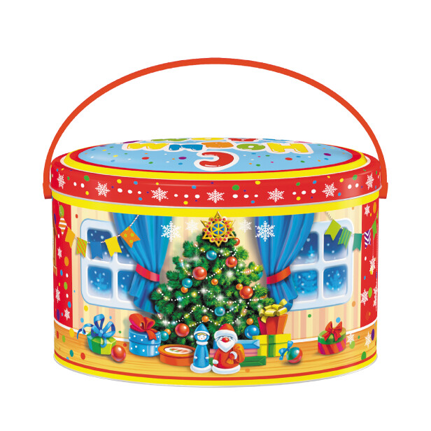 Детский сладкий новогодний подарок «Парочка». Фото 2