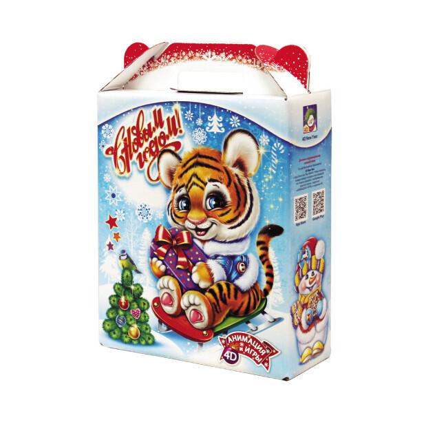 Детский сладкий новогодний подарок «Сюрприз». Фото 1