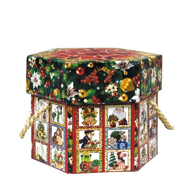 Детский сладкий новогодний подарок «Калейдоскоп». Фото 1