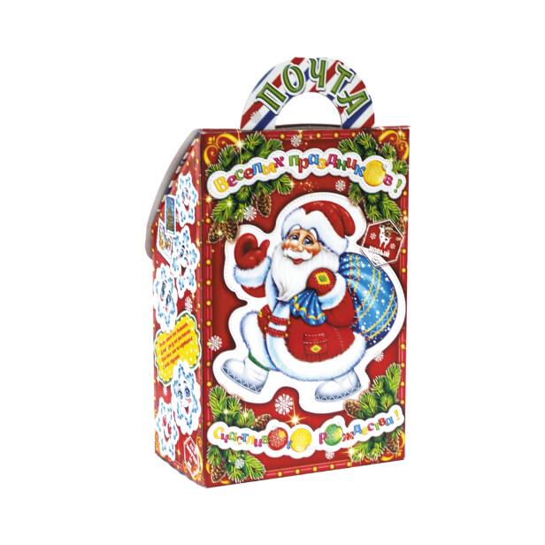 Детский сладкий новогодний подарок «Почта ДМ». Фото 2