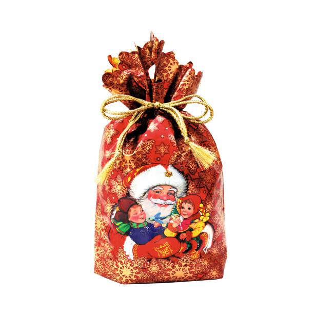 Детский сладкий новогодний подарок «Мешочек №1»
