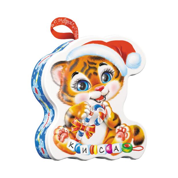 Детский сладкий новогодний подарок «Тигрёнок». Фото 1