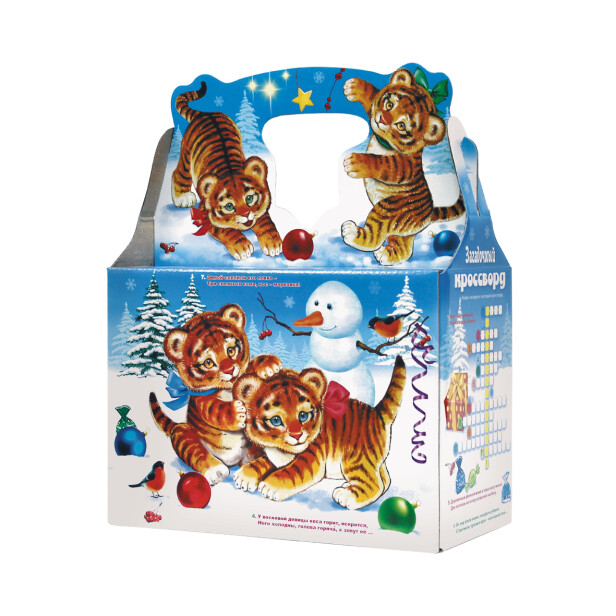 Детский сладкий новогодний подарок «Веселье». Фото 2
