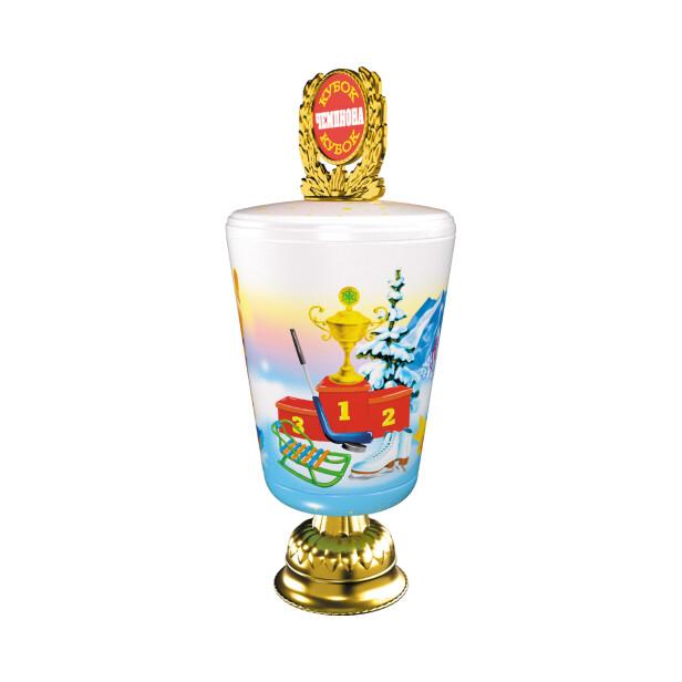 Детский сладкий новогодний подарок «Кубок». Фото 2