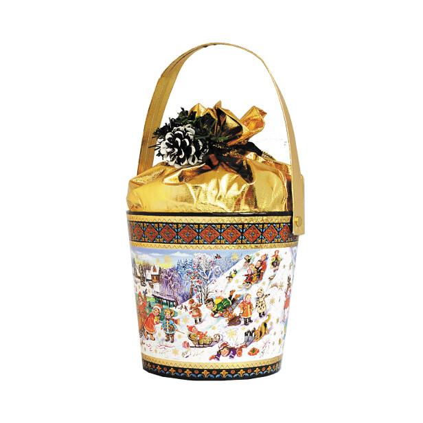 Детский сладкий новогодний подарок «Горка»
