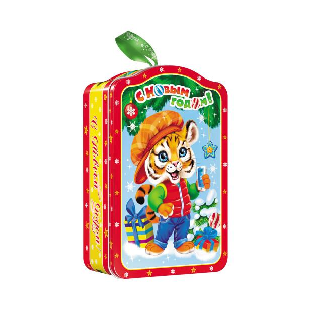 Детский сладкий новогодний подарок «Весельчак». Фото 1