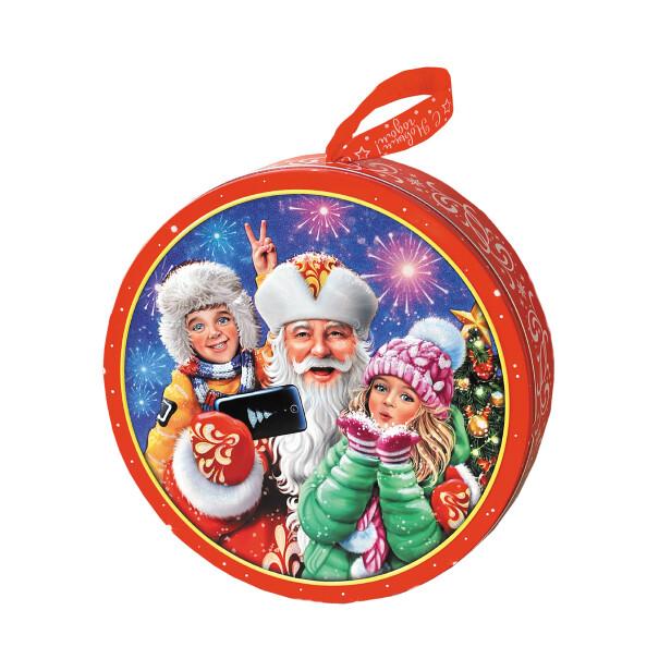 Детский сладкий новогодний подарок «Селфи». Фото 1