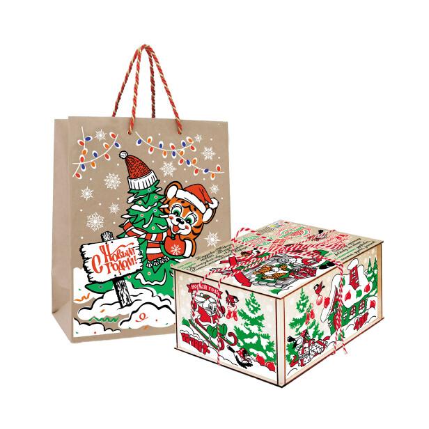 Детский сладкий новогодний подарок «Награда». Фото 1