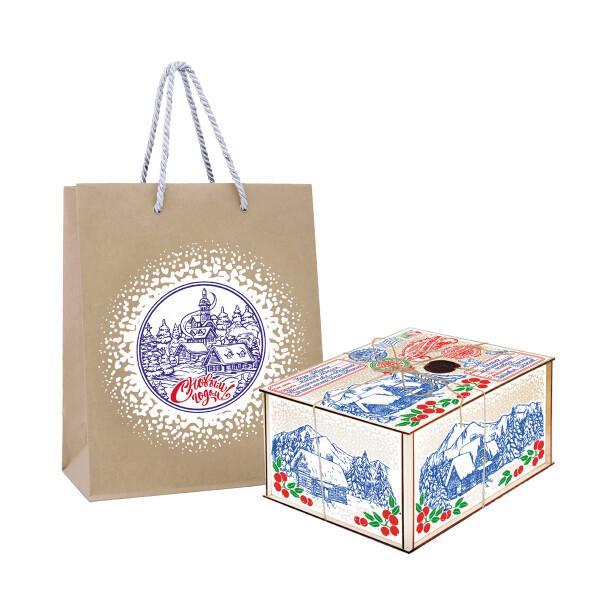 Детский сладкий новогодний подарок «Бандероль». Фото 1