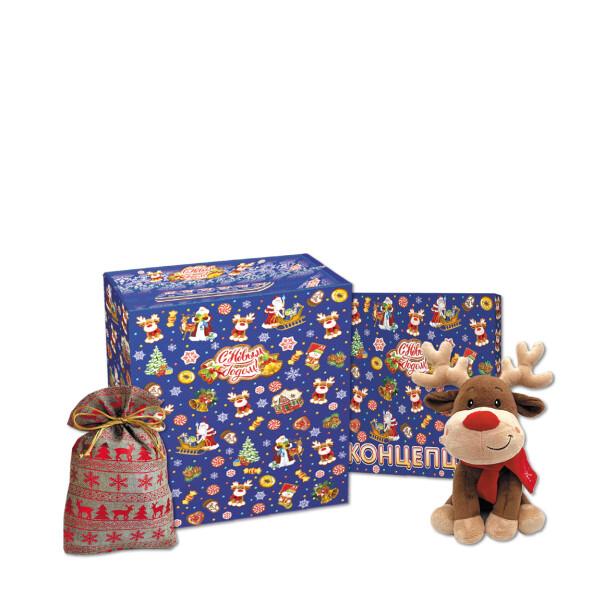 Детский сладкий новогодний подарок «Приз». Фото 1