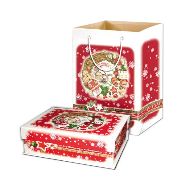Детский сладкий новогодний подарок «Кружево»