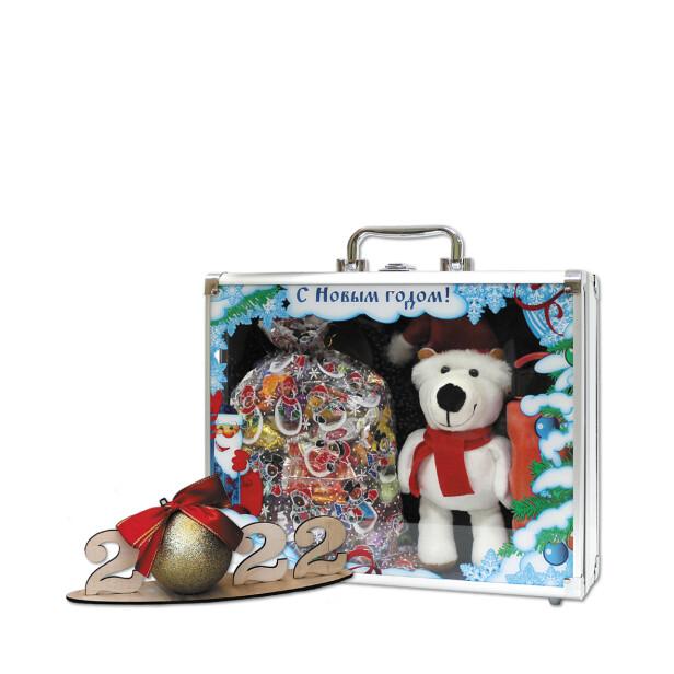 Детский сладкий новогодний подарок «Дипломат». Фото 1