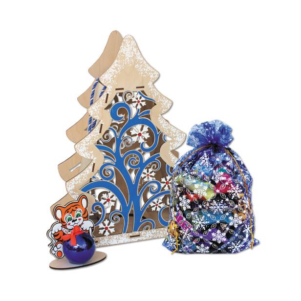 Детский сладкий новогодний подарок «Узоры». Фото 1