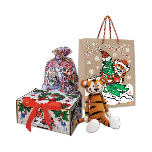 Детский сладкий новогодний подарок «Услада». Фото 1