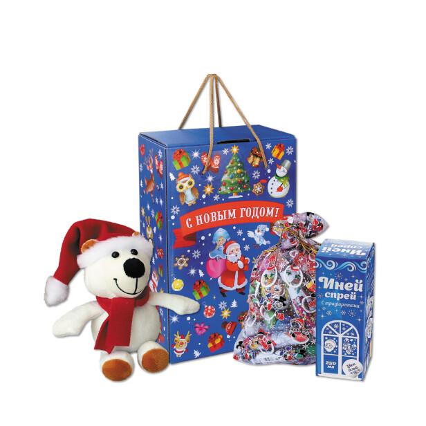 Детский сладкий новогодний подарок «Ассорти». Фото 1